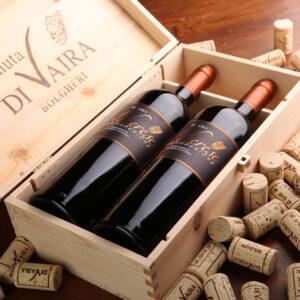 Tenuta di Vaira - Confezione vini legno